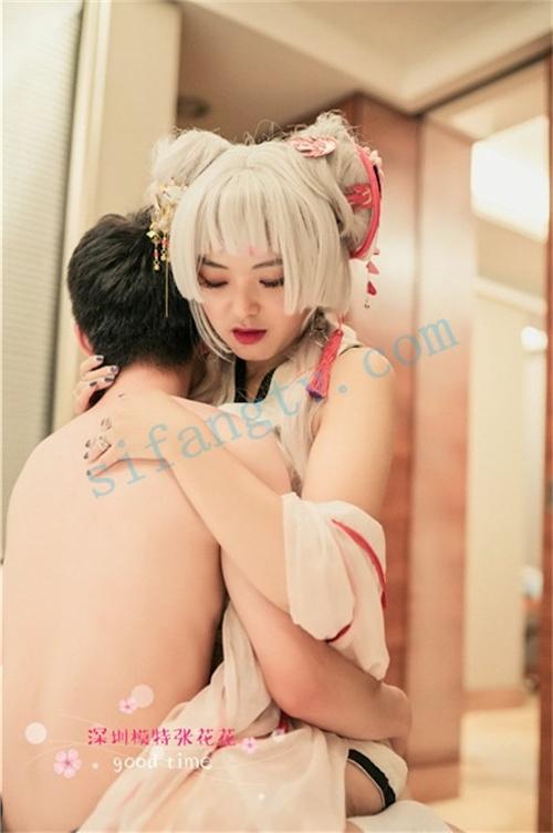中国美女モデルのプライベートセックス流出画像 3
