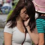 街で見かけたムチムチセクシー美女の画像