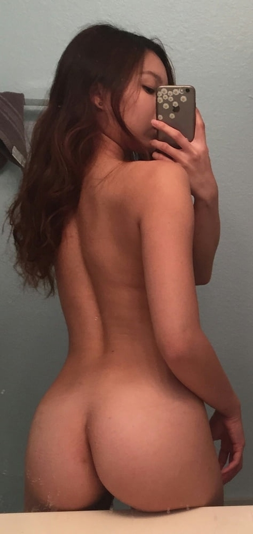 美微乳&美尻なパイパン美少女の自分撮りヌード画像 4