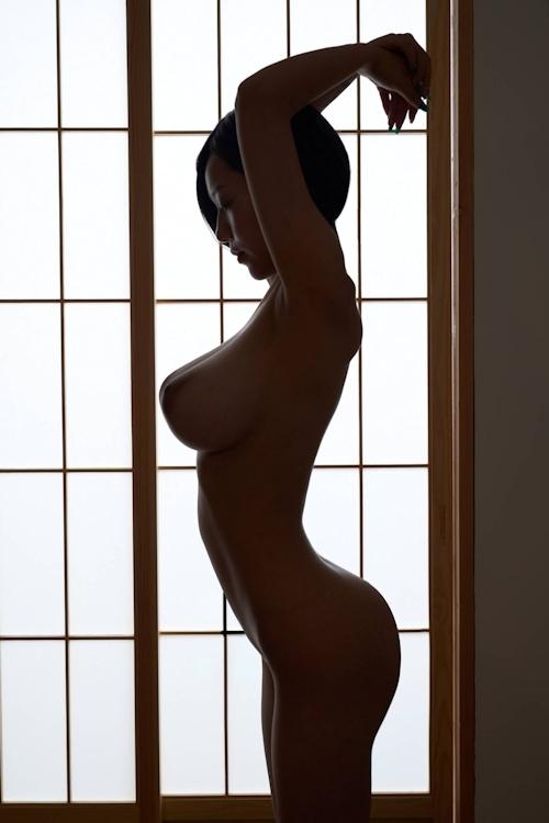 美爆乳美女のヌード画像 11