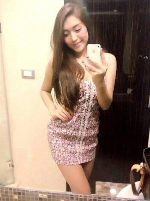 タイのオシャレな素人美女の自分撮りヌード流出画像 5
