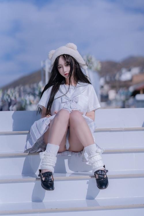 美尻JKのパンチラ画像 6