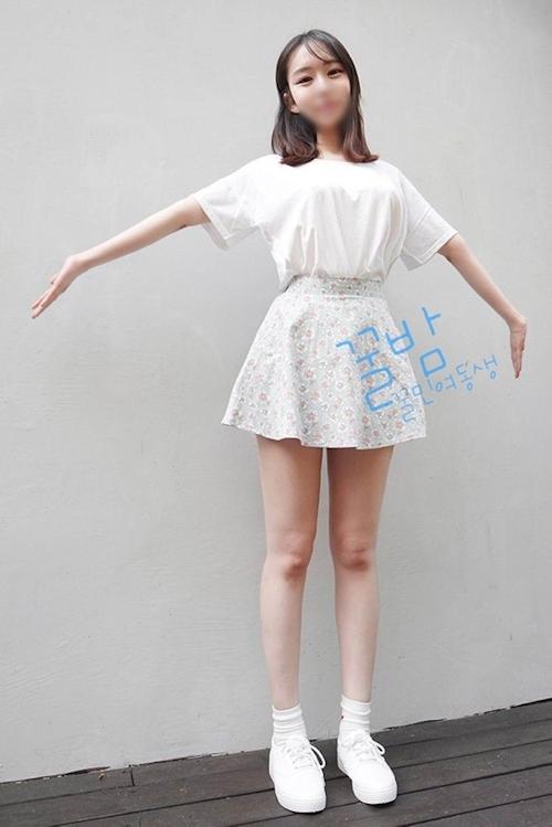 韓国巨乳素人美少女流出ヌード画像 3