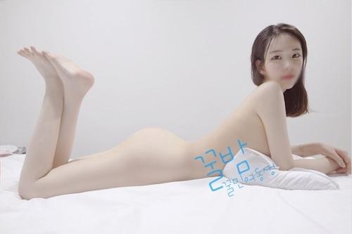 韓国巨乳素人美少女流出ヌード画像 14