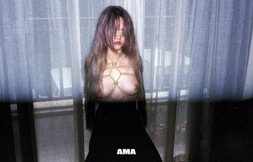 若い女性の緊縛ヌード画像 7