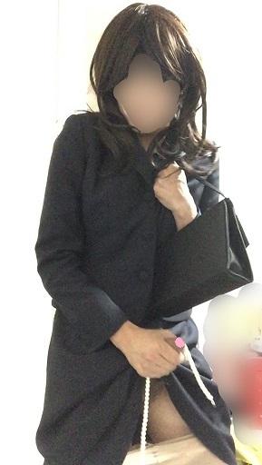 フォーマル 女装 オナニー