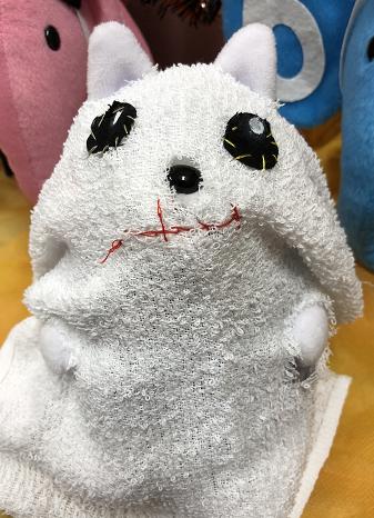 ピクシーくんコスプレ(オバケ)