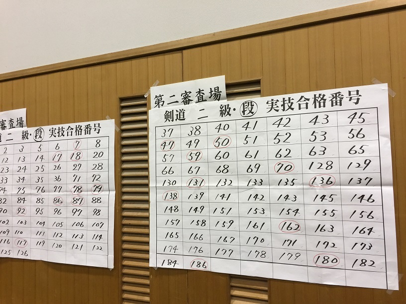 昇段審査2019