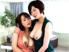 【熟女レズ発情】四十路熟女がレズキス、アナル舐め、貝合わせ! 竹内梨恵 よしい美希
