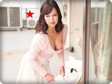 【無修正・水原麗子】【中出し】乳首チラ見せでゴミ出しするノーブラ欲求不満妻
