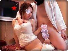 【無修正素人・個撮】ゆずき23歳 パイパン美乳スレンダー美女に大量中出し!