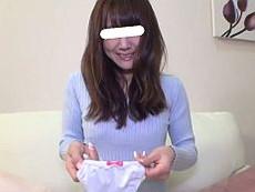 【無】清楚な色白三十路妻が自分でエッチな下着を持参してのヤル気マンマンハメ撮り♪