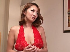 ダイスキ!人妻熟女動画 :バツ2の爆乳妻が夫より先に連れ子の兄弟にハメられてしまう! 吹石れな