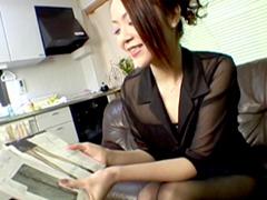 裏・桃太郎の弟子 :【無修正】パンスト訪問販売に心躍る三十路奥様 林由美香