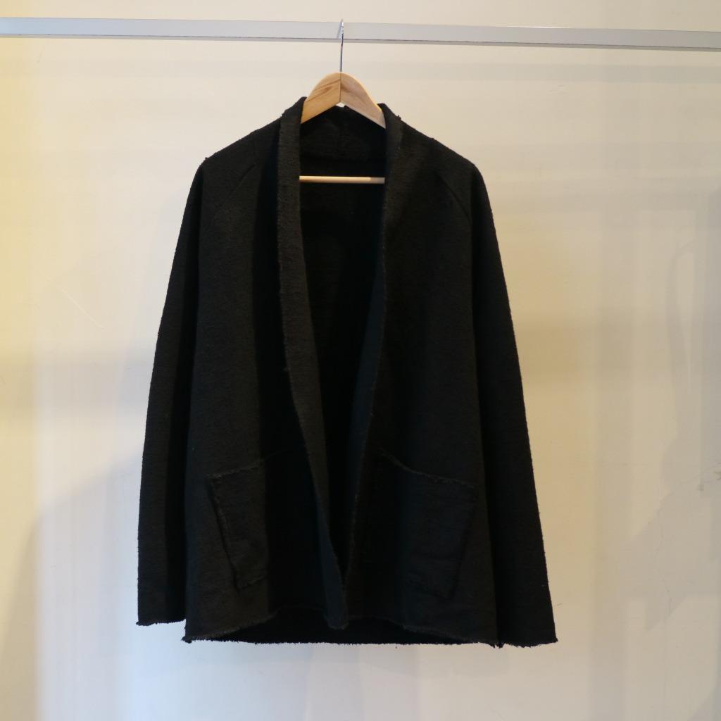 OGガラ紡ジャケット 濃黒