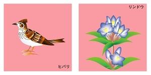 熊本県の鳥と花