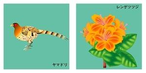 群馬県の鳥と花