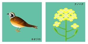 千葉県の鳥と花