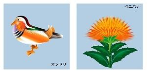 山形県の鳥と花