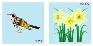 福井県の鳥と花