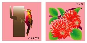 沖縄県の鳥と花