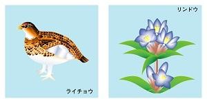 長野県の鳥と花