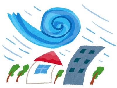 【悲報】台風10号さん、上陸直前で909hPa