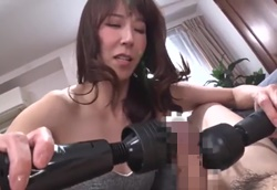【M男】高身長ドSママの男潮搾りちんぽ弄り!澤村レイコ1