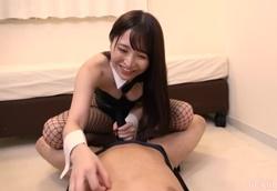 【M男】拘束くすぐり風俗 バニーコス手コキ!2