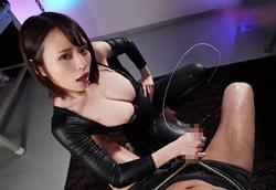 【VR】美巨乳ラバースーツむんむんフェロモン拘束射精拷問!伊藤舞雪1