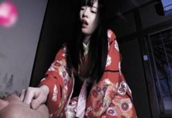 宮沢ゆかり 和服美少女に寝込みを襲われ乳首舐め手コキフェラでヌカれる1