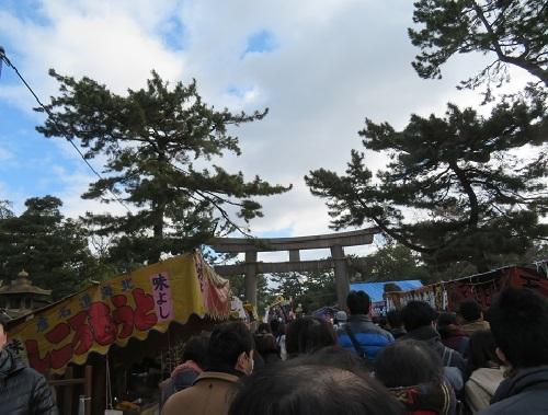 2019 1 3 住吉大社さん初詣