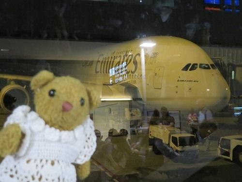 2019 6 7 関空→ドバイ エミレーツ航空 機内