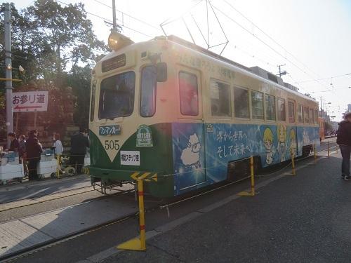 2020 1 3 住吉大社の前(阪堺電車)