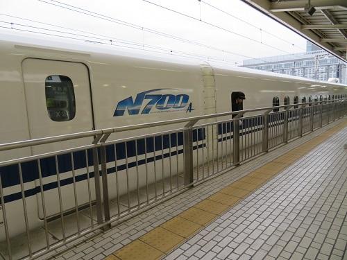 2019 2 6  三島駅 新幹線ホームにて
